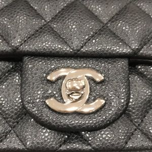 CHANEL Bags - Chanel Mini Flap Bag - Black Caviar (Sac Rabat)